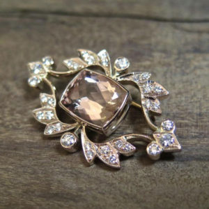 2015-10-27_18ct_rose_gold_broach_set_with_diamonds_a_cushion_cut_morganite